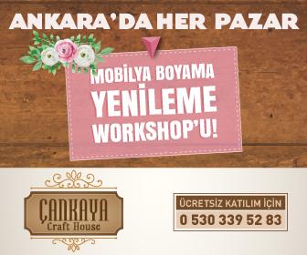 Her Pazar Ücretsiz Mobilya Yenileme Workshopu