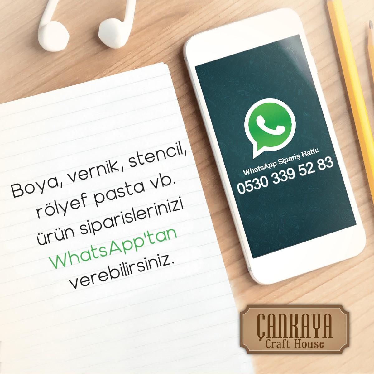 Cadence Ürün Siparişlerinizi WhatsApp'tan İletin
